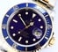 Two-Tone Rolex Blue Submariner 16613