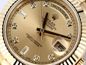 Rolex Day-Date II 218238 Diamond Dial