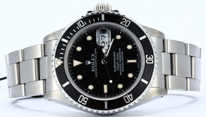 Rolex Submariner 16800 Black