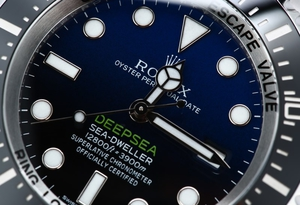 Sea-Dweller Deepsea Blue 116660