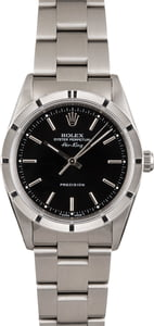 Pre Owned Rolex Air-King 14010 Black Index Dial