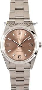 Rolex Air King 14000 Salmon Dial