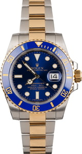 Pre Owned Rolex Ceramic Submariner 116613 Two Tone