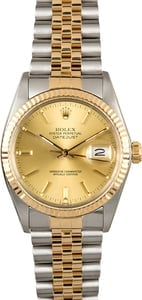 Certified Pre-Owned Rolex Datejust 16013