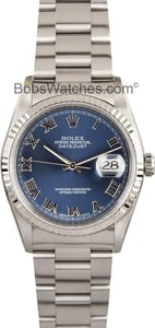 Rolex DateJust 16234 Blue Dial
