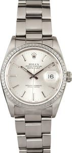 Rolex Steel Datejust 16200 x