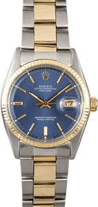 Datejust Rolex 1601 Vintage Two-Tone