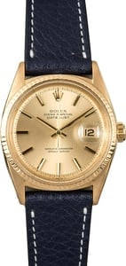 Datejust Rolex 1601 Yellow Gold