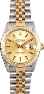 Datejust Rolex 16013 100% Authentic