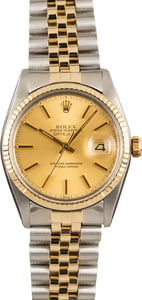 Datejust Rolex 16013 Steel & Gold Jubilee