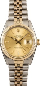Datejust Rolex 16013 Pre-Owned