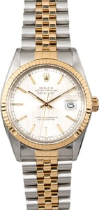 Datejust Rolex 16013 Tapestry Dial