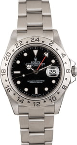 Pre Owned Rolex Black Dial Explorer II Ref 16570