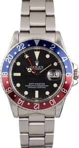 Pre Owned Rolex Pepsi GMT-Master 16750