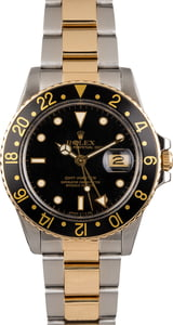 Used Rolex GMT Master 16753 Two Tone