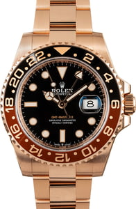 Rolex GMT-Master II Ref 126715 New Everose 'Root Beer' Model