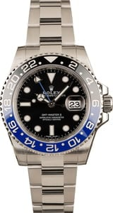 "GMT-Master II Ref 116710 ""Batman"" Ceramic"