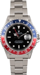 Used GMT Master II Rolex 16710