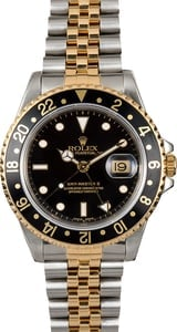 Pre-Owned Rolex GMT-Master II Ref. 16713 Black