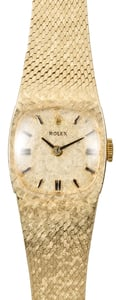 Gold Vintage Ladies Rolex Cocktail Watch
