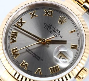 Rolex DateJust Stainless Steel and 18K 16233