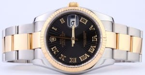 Men's Rolex Stainless and Gold DateJust 116233