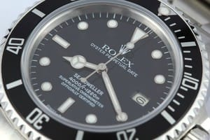Rolex Sea-Dweller 16660 Transitional at Bob's Watches