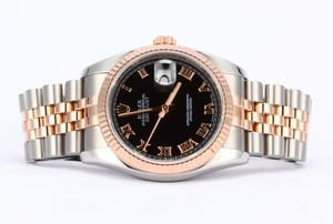 Rolex Mens Datejust 116231 Stainless and 18K RG
