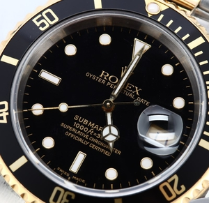 Pre Owned Rolex Submariner 16613