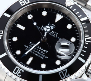 Rolex Submariner Stainless Steel 16610 Black Dial