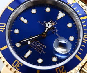 Men's Rolex Submariner Steel & Gold 16613