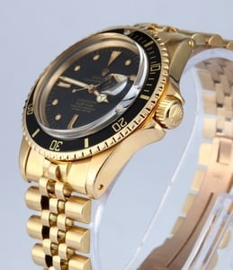 1968 Rolex Submariner 1680 18K Yellow Gold