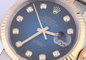 Rolex DateJust Jubilee Stainless and Gold - Diamond Dial