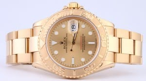 Rolex Yachtmaster 18k Yellow Gold