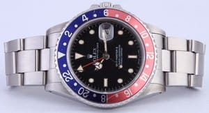 Vintage Men's Rolex GMT-Master II Pepsi Bezel Model 16760