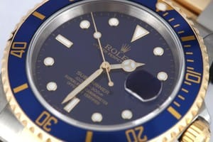 Rolex Two Tone Submariner 16613 1