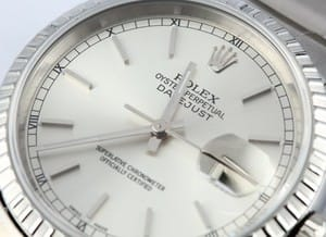 Rolex DateJust Stainless Steel Oyster 16220