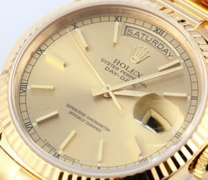 Men's Rolex President Gold Day-Date 18238