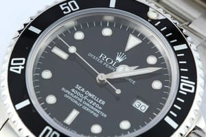 105872-1 Mens Rolex Sea-Dweller Model 16600 Stainless, Pre Owned at Bob's Watches