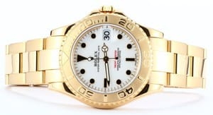 18k Yellow Gold Yachtmaster 168628