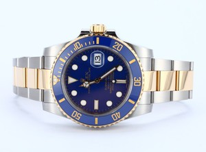 Rolex Ceramic Submariner 116613 18K and Steel