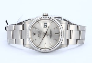Mens Rolex DateJust Stainless Steel 16220