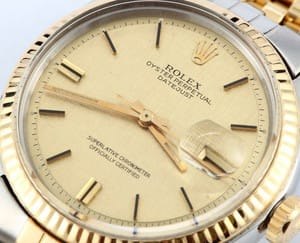 Rolex Datejust Two Tone 1601
