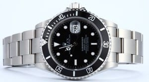 Pre-Owned Rolex Submariner 16610T no holes case at Bob's Watches