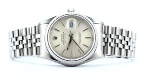 Mens Rolex DateJust 16220 Stainless