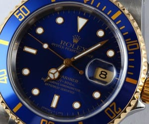 Two Tone Submariner 16613 Jubilee