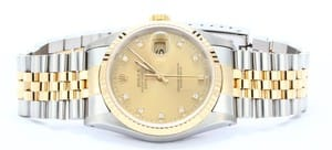 Men's Rolex DateJust Diamond Dial 16233
