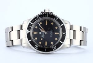 Rolex Men's Submariner 5513 Vintage