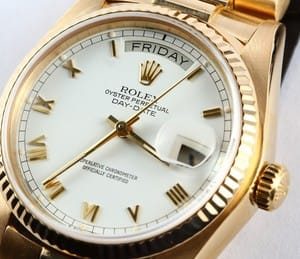 Used Rolex Day Date 18038