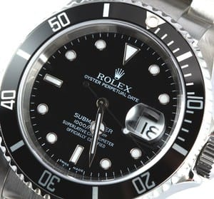 Pre-Owned Rolex Submariner Stainless Steel 16610